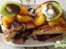 Omlet biszkoptowy z konfiturą wg Buni :