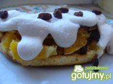 Omlet biszkoptowy z pomarańczą