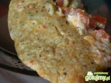Omlet hiszpański z mieszanką