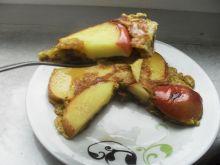 Omlet jabłkowy z rana