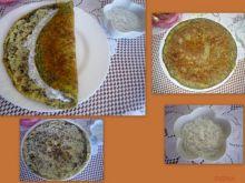 Omlet migdałowo-makowy