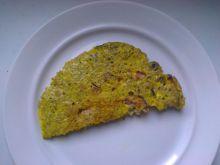 Omlet na kaszy jęczmiennej