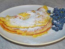 Omlet na serku homogenizowanym z mąką graham