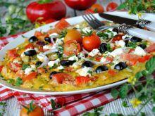 """Omlet """"sałatka grecka"""""""