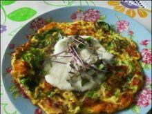 Omlet szpinakowy