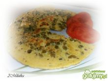 Omlet w kropeczki