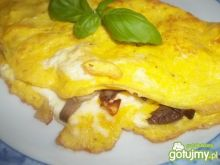 Omlet z boczniakami