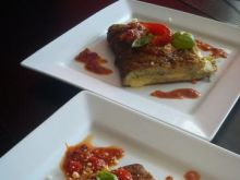 Omlet z cukinią i serem