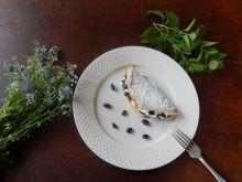 Omlet z jagodą kanczacką