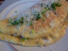 Omlet z kaszą jaglaną
