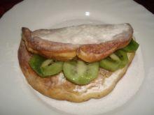 Omlet z kiwi