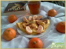 Omlet z mandarynką