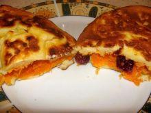 Omlet z marchewką i żurawiną