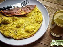 Omlet z musztardą Dijon i ziołami prowan