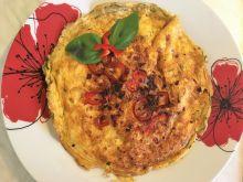 Omlet z papryką i szczypiorkiem