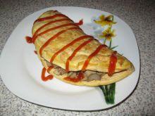 Omlet z płatkami kukurydzianymi wg ejla