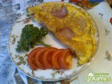Omlet z podsuszaną kiełbasą