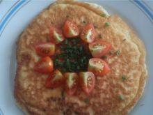 Omlet z pomidorkami i szczypiorkiem