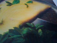Omlet z serem rokfor