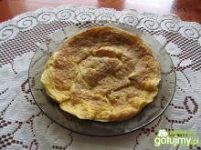 Omlet z szynką i cebulką