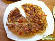 Omlet z warzywami 2.
