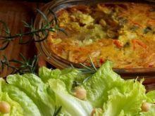 Omlet   z warzywami  bez jaj