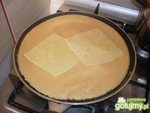 omlet z zółtym serem wg meli