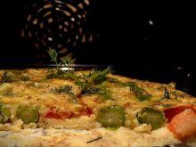 Omlet ze szparagami i otrębami z piekarnika