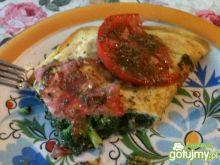 Omlet ze szpinakiem 2.