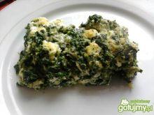 Omlet ze szpinakiem i serem feta