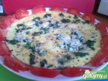 Omlet ze szpinaku