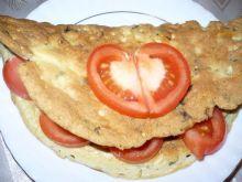 Omlet ziołowy z serem
