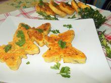 Omlety serowe- różne kształty