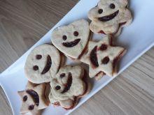 Optymistyczne kruche ciasteczka buźki