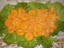 Oranżowe kluski z dziurką :