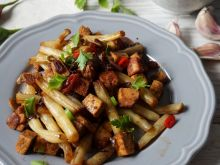 Orientalna fasolka z tofu