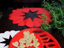 Orkiszowe kopytka z chili dla zakochanyc