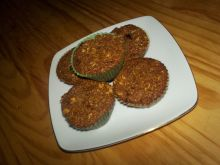 Orkiszowe muffiny z bakaliami
