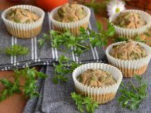 Orkiszowe muffiny z ziarnami na wytrawnie