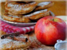 Orkiszowo-razowe placki z jabłkami