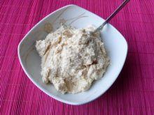 Orzechowa masa z kaszki manny