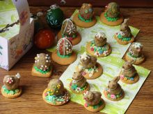 Orzechowe ciasteczka figurki