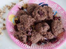 Orzechowe ciasteczka z ciecierzycy