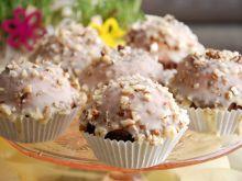 Orzechowe muffinki z czekoladą