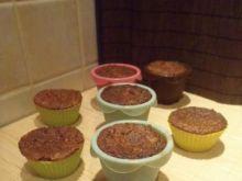 Orzechowe muffinki z fasoli