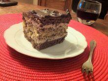 Orzechowiec z rodzynkami w czekoladzie