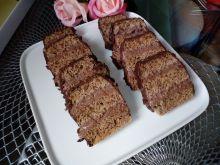 Orzechowo - czekoladowy przekładaniec