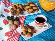 Orzechowo-kakaowe ciasteczka kręcone