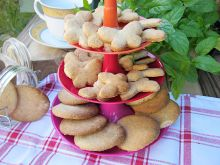 Orzechowo-migdałowe ciasteczka