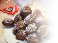 Orzeszki kakaowe z orzechową masą